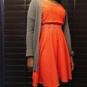 Dresses & Skirts - Orange Dress Size Large
